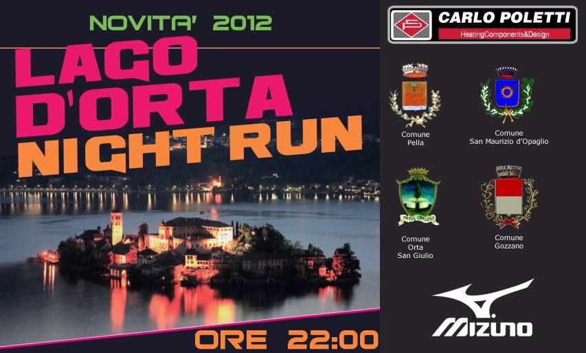 Domani si corre la Lago d'Orta NIght Run