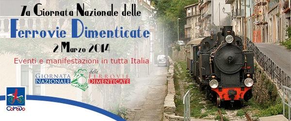 7° Giornata Nazionale delle Ferrovie Dimenticate