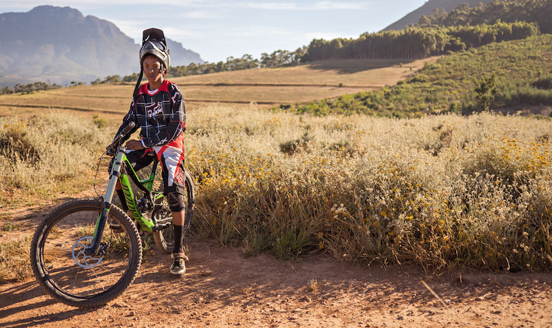 Theo Ngubane – First South African at Downhill World Championship