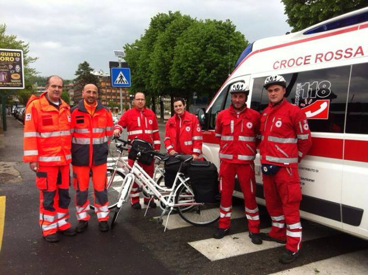 Emergency by Bike @ Arona!