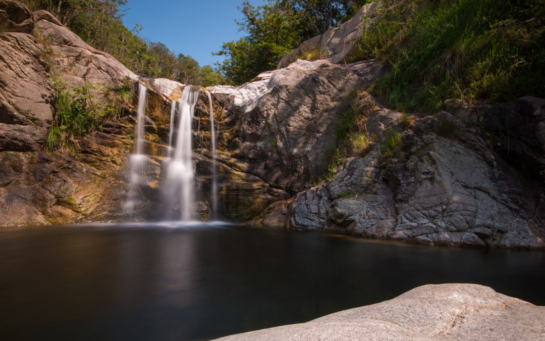 Le cascate del torrente Pescone